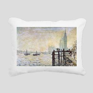 Claude Monet Westminster Bridge Rectangular Canvas