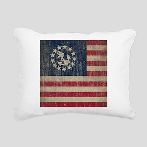 Vintage America Yacht Flag Rectangular Canvas Pill