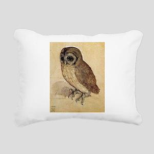 Durer The Little Owl Rectangular Canvas Pillow