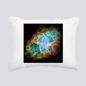 Crab Nebula (High Res) Rectangular Canvas Pillow