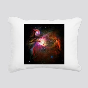 Orion Nebula (High Res) Rectangular Canvas Pillow