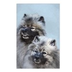 Keeshond Brothers Postcards (Package of 8)
