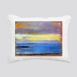 Edgar Degas Coastal Strip At Sunset Rectangular Ca