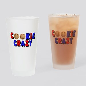 Cookie Crazy Drinking Glass