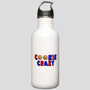 Cookie Crazy Stainless Water Bottle 1.0L
