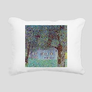 Klimt Farmhouse In Austria Rectangular Canvas Pill