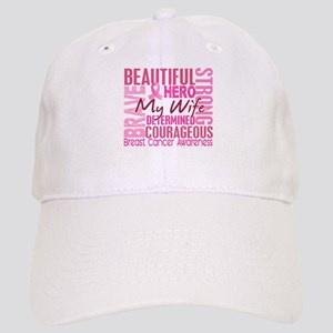 Tribute Square Breast Cancer Cap