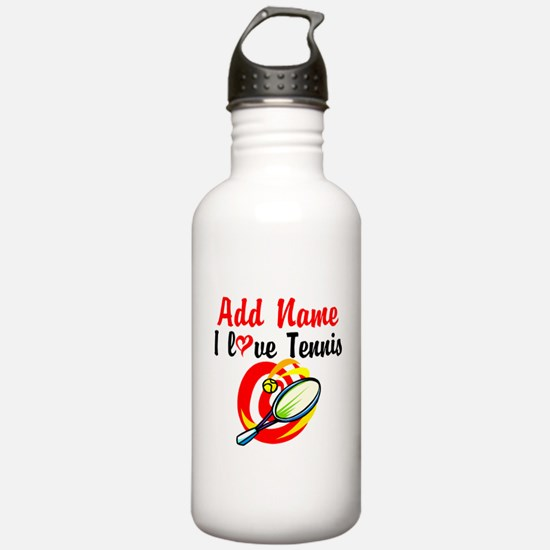 I LOVE TENNIS Sports Water Bottle