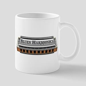 Blues Harmonica Mug