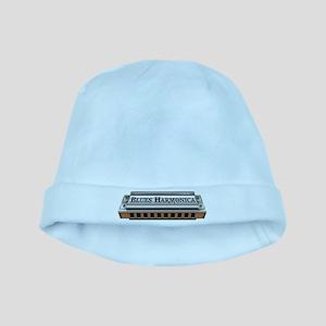Blues Harmonica baby hat