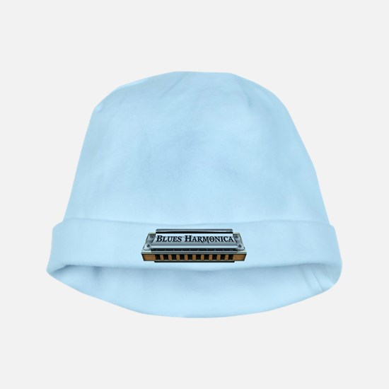 Blues Harmonica baby hat