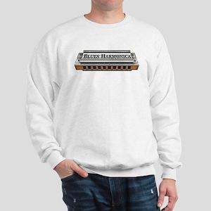 Blues Harmonica Sweatshirt