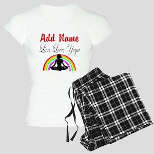 I LOVE YOGA Women's Light Pajamas