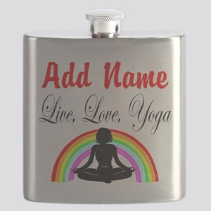 I LOVE YOGA Flask