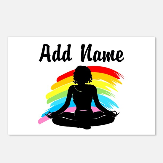 I LOVE YOGA Postcards (Package of 8)