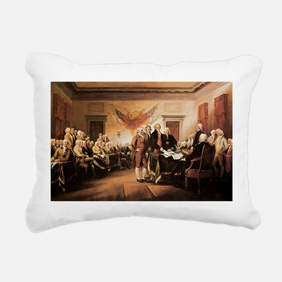 John Trumbull The Declaration of Independence Rect