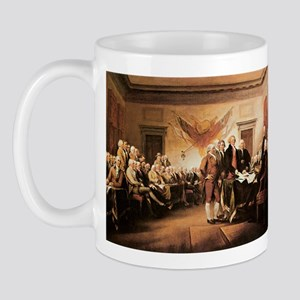 John Trumbull The Declaration of Independence Mug