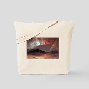 Frederic Edwin Church Aurora Borealis Tote Bag