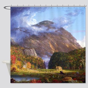 Thomas Cole A View Of The Mountain Pass Shower Cur