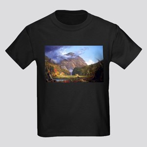 Thomas Cole A View Of The Mountain Pass Kids Dark