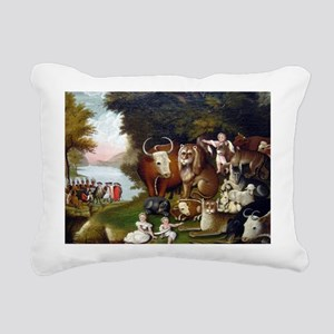 Edward Hicks Peaceable Kingdom Rectangular Canvas