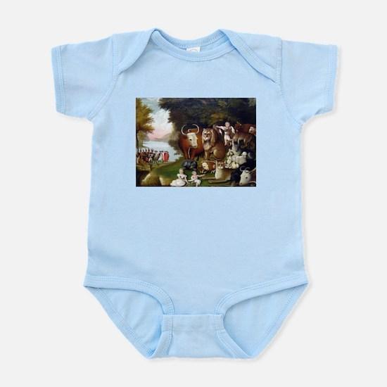 Edward Hicks Peaceable Kingdom Infant Bodysuit