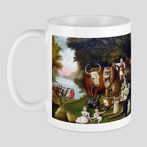 Edward Hicks Peaceable Kingdom Mug