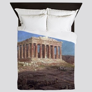 Frederic Edwin Church The Parthenon Queen Duvet