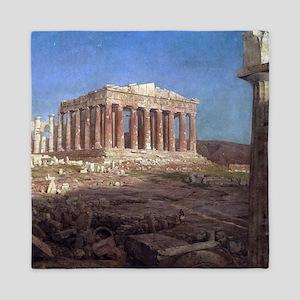Frederic Edwin Church The Parthenon Queen Duvet