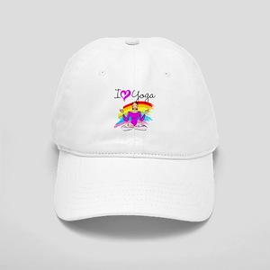 I LOVE YOGA Cap