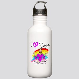 I LOVE YOGA Stainless Water Bottle 1.0L