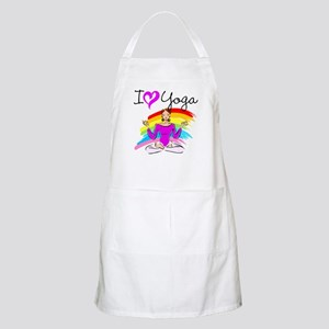 I LOVE YOGA Apron