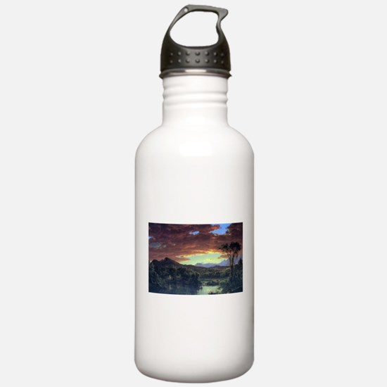 Frederic Edwin Church A Rural Home Water Bottle