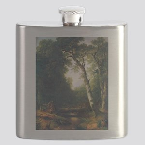 A creek in the woods Flask