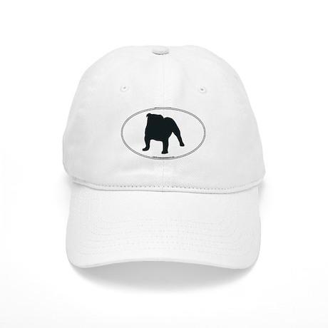 Bulldog Silhouette Cap
