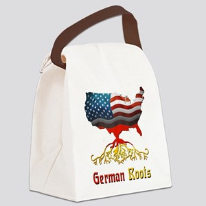 American German Roots Canvas Lunch Bag