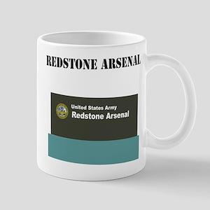 Redstone Arsenal with Text Mug