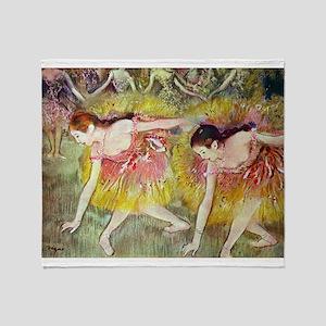 Edgar Degas After The Bath Throw Blanket