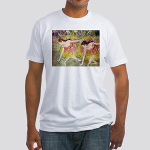 Edgar Degas After The Bath Fitted T-Shirt