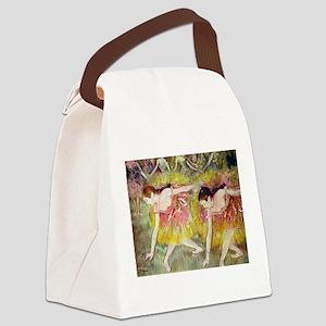 Edgar Degas After The Bath Canvas Lunch Bag