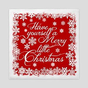 Merry little Christmas Queen Duvet
