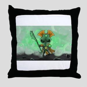 Robot Overlord Throw Pillow