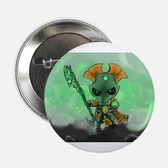 "Robot Overlord 2.25"" Button"