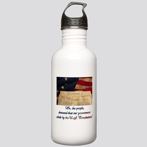 We The People Demand Stainless Water Bottle 1.0L