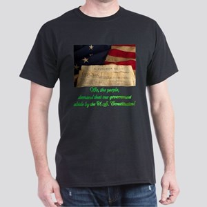 We The People Demand Dark T-Shirt