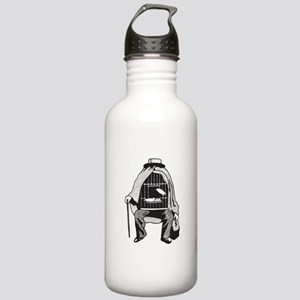 Bird Cage Man Stainless Water Bottle 1.0L