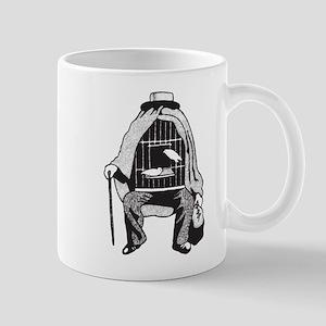 Bird Cage Man Mug