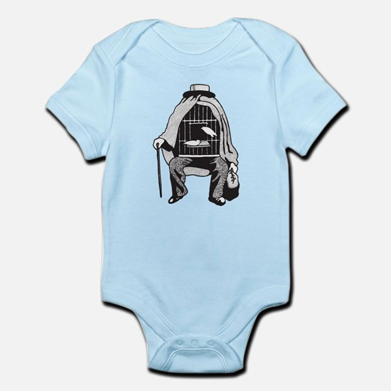 Bird Cage Man Infant Bodysuit