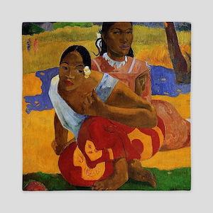 Paul Gauguin Getting Married Queen Duvet