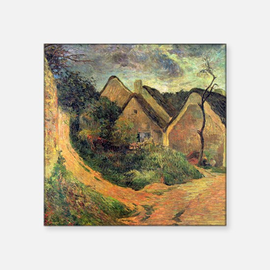"Paul Gauguin Ansteigender Square Sticker 3"" x 3"""
